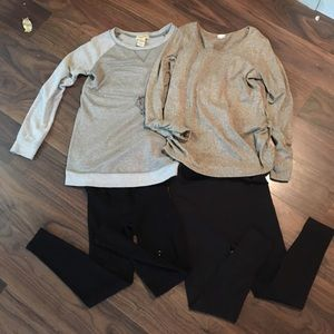 Bundle lot of 2 maternity outfits for fall/winter